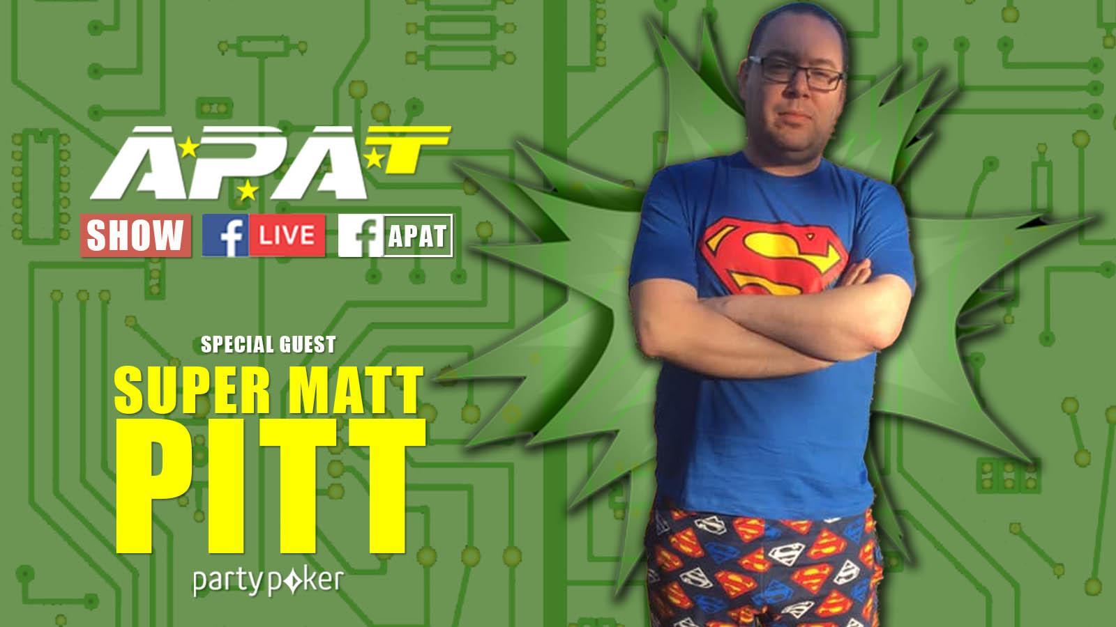Matt Pitt Interview