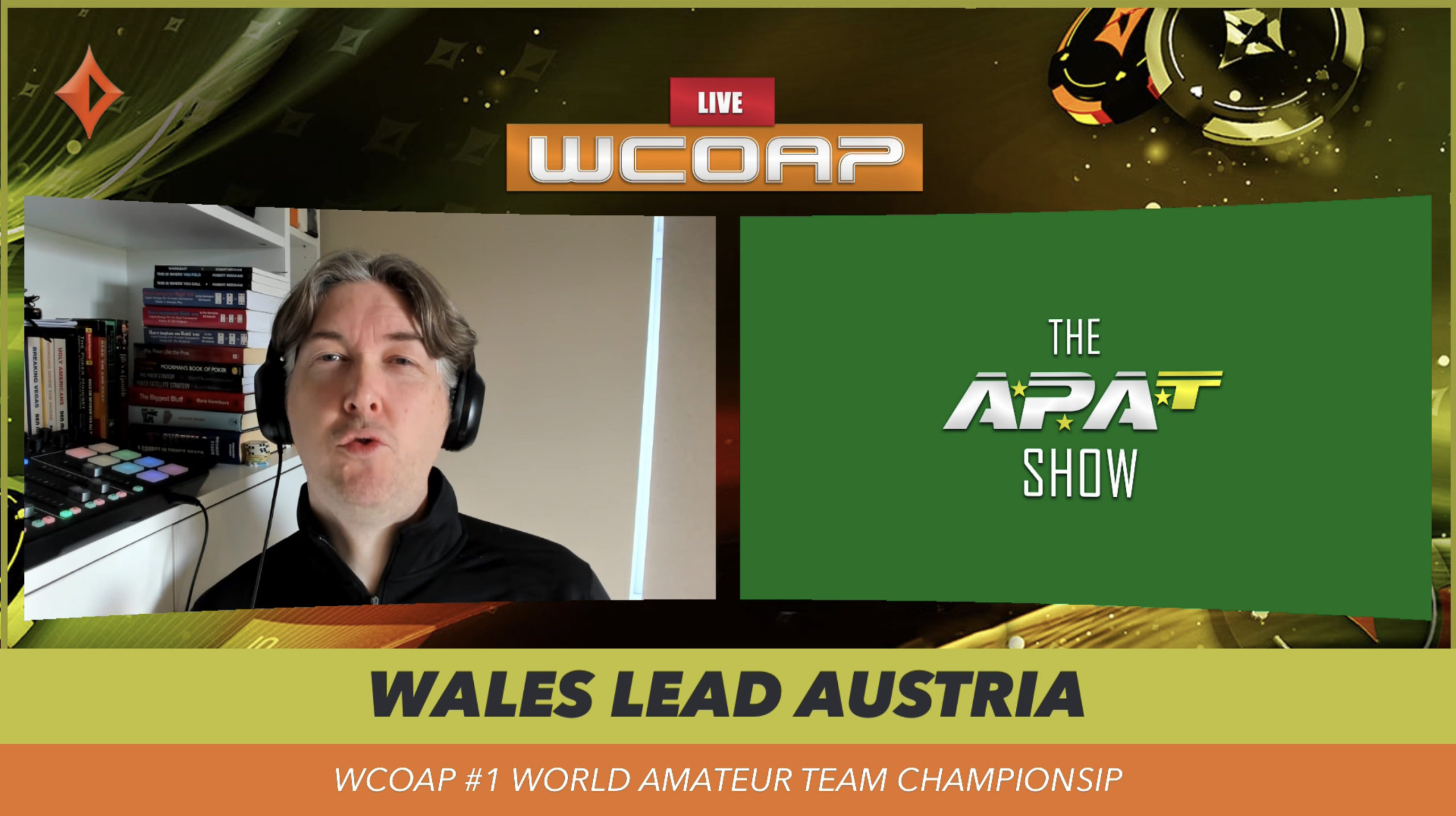 Wales Lead WCOAP Event #1